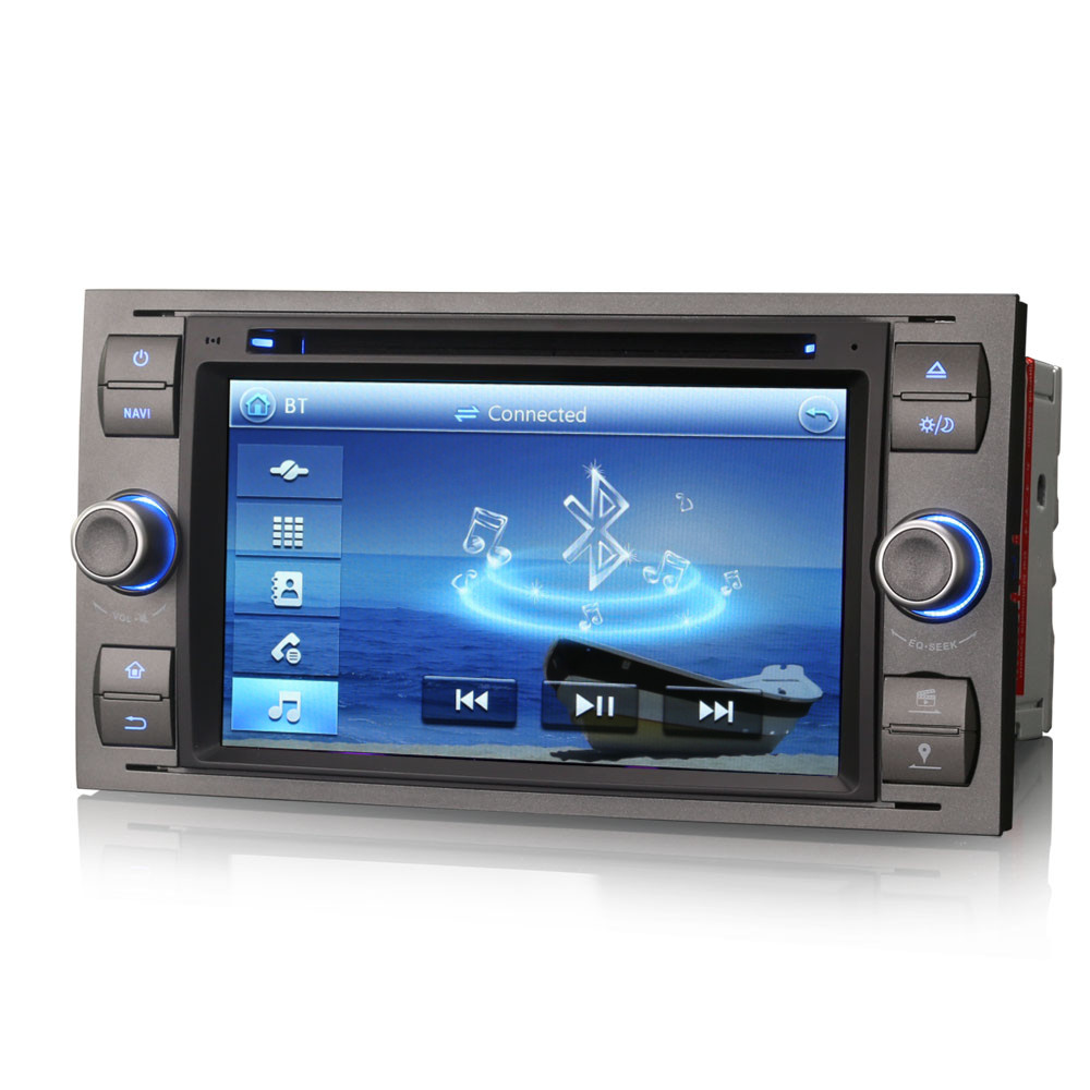 car radio dvd player gps sat nav bluetooth usb stereo for. Black Bedroom Furniture Sets. Home Design Ideas