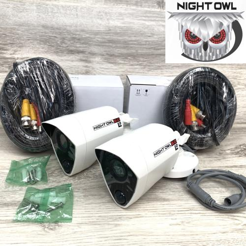 Night Owl 5MP HD Bullet Camera Night Vision with 60 ft Cable CM-PTHD50NW-BU-HIK