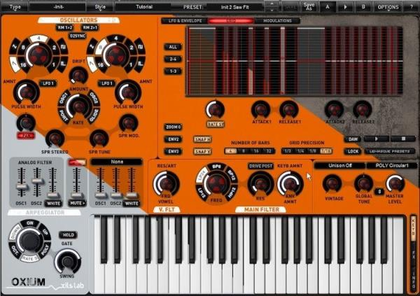 Details about New XILS-lab Oxium Synthesizer Mac PC VST AU RTAS Plug-in  Analog Synth Software