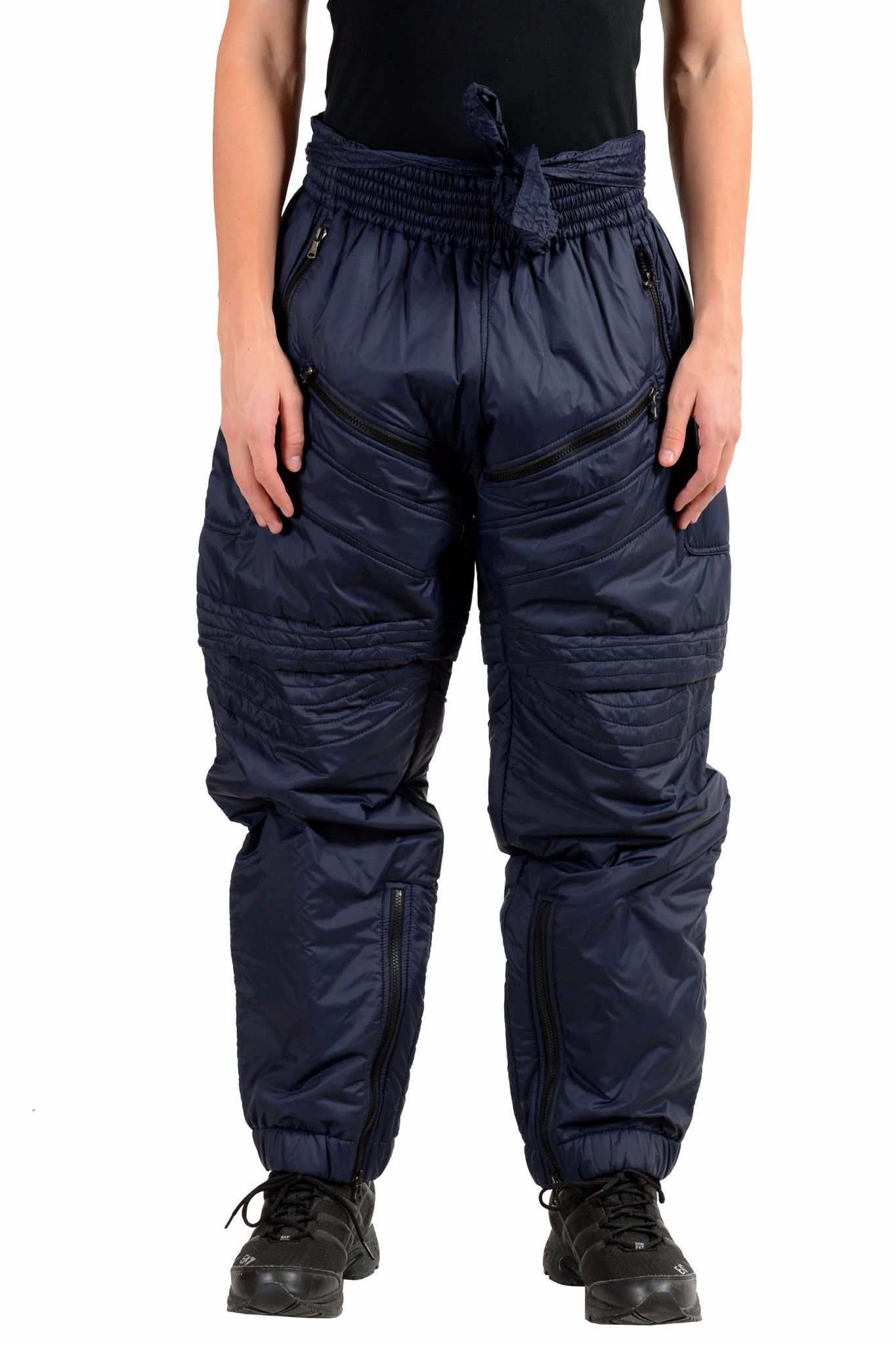 Dolce /& Gabbana D/&G Men/'s Brown Insulated Snow Pants Size 28 30 32 34