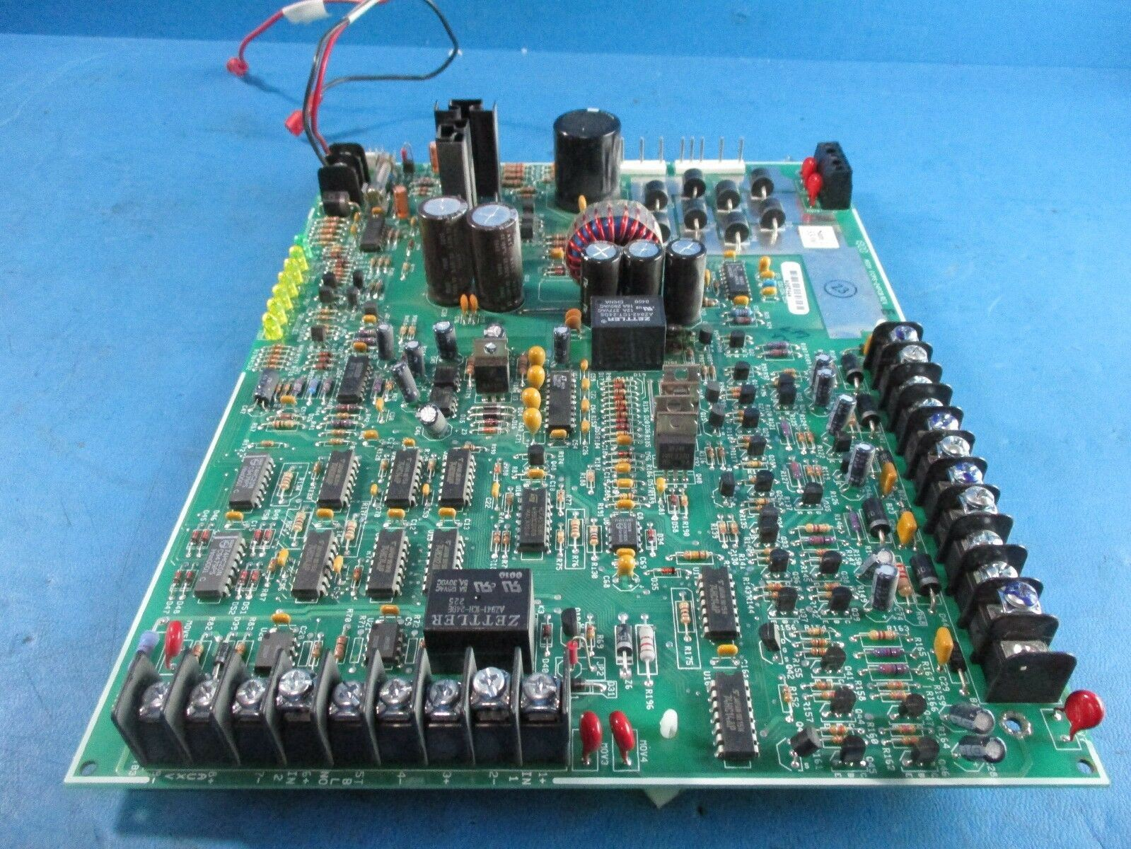 Details about Fire-Lite FCPS-24PCB RevE Fire Alarm Power Supply Circuit  Board - USED