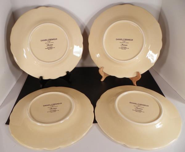 daniel-cremieux-maison-provence-dinner-plate-3_600.jpg?v\u003d1504711937.453 & Daniel Cremieux Maison PROVENCE Dinner Plate (s) LOT OF 4 Embossed ...