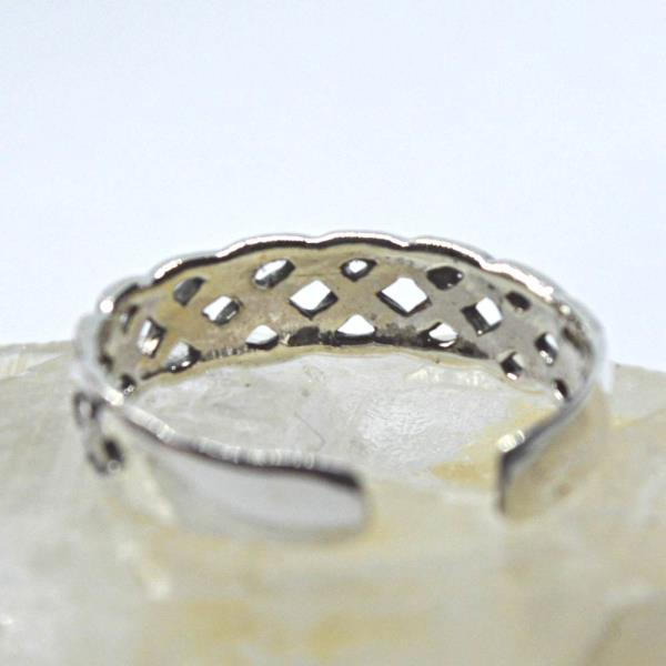 Toe Rings Everything Else Sterling Silver Celtic Knot Design Adjustable Toe Ring~wicca~pagan~jewellery #1