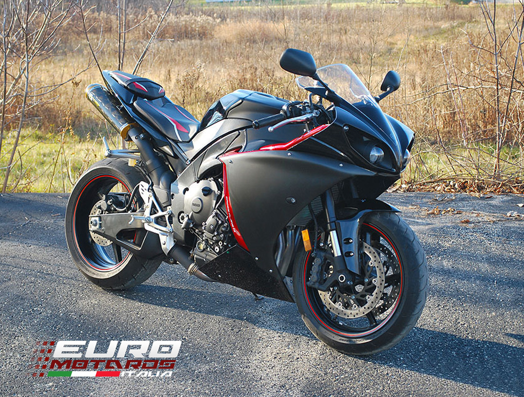 Yamaha R1 2009-2014 Luimoto Raven Edition Seat Cover Set Front ...