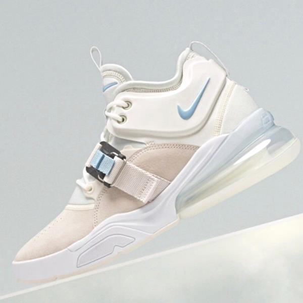 d5f6156d75 Details about Nike Air Force 270 White Blue Feel Big jordan supreme 96 off  og AH6772-003