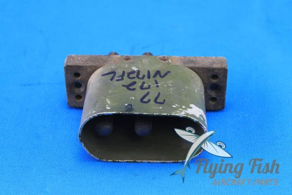 An 2552-3a Aircraft Ground Power 3 Pin Female Plug Receptacle