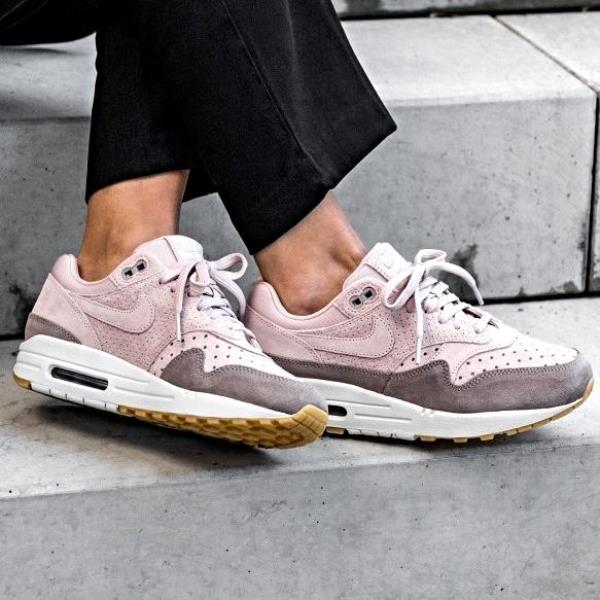Details about Nike Air Max 1 PRM Sneakers Particle Beige Size 6 7 8 9 Womens Shoes New