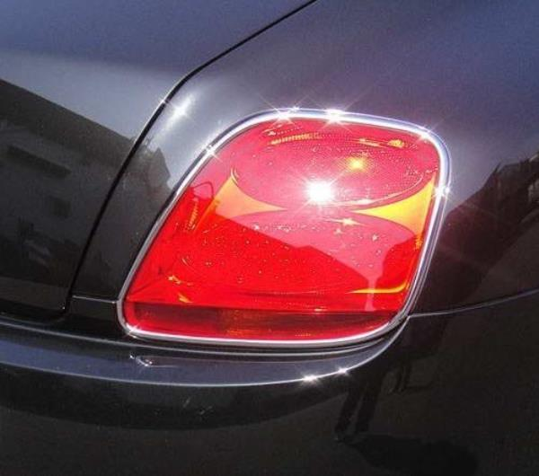 BENTLEY CONTINENTAL GT GTC CHROME Tail Light TRIMS