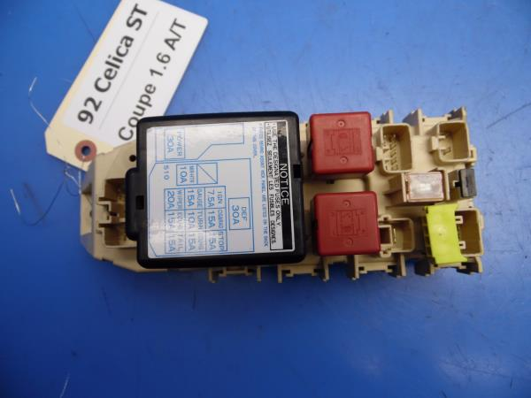 Sensational 92 93 Celica St184 Oem In Dash Fuse Box W Fuses Integration Relay Wiring Digital Resources Ntnesshebarightsorg