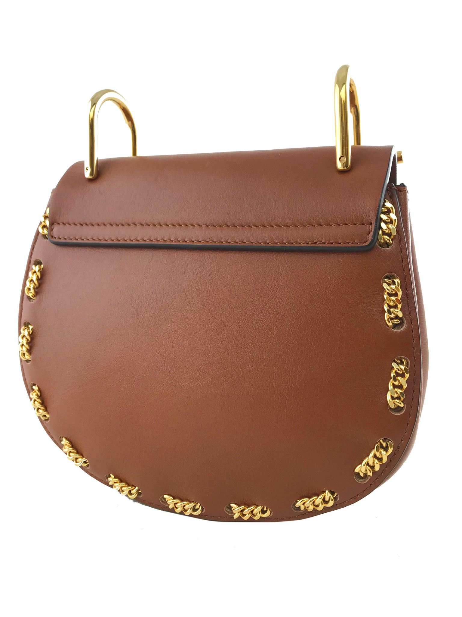 c915f672a730 Chloe Drew Mini Chain-Threaded Leather Shoulder Bag. Liquid error  Index  was out of range. Must be non-negative and less than the size of the  collection.