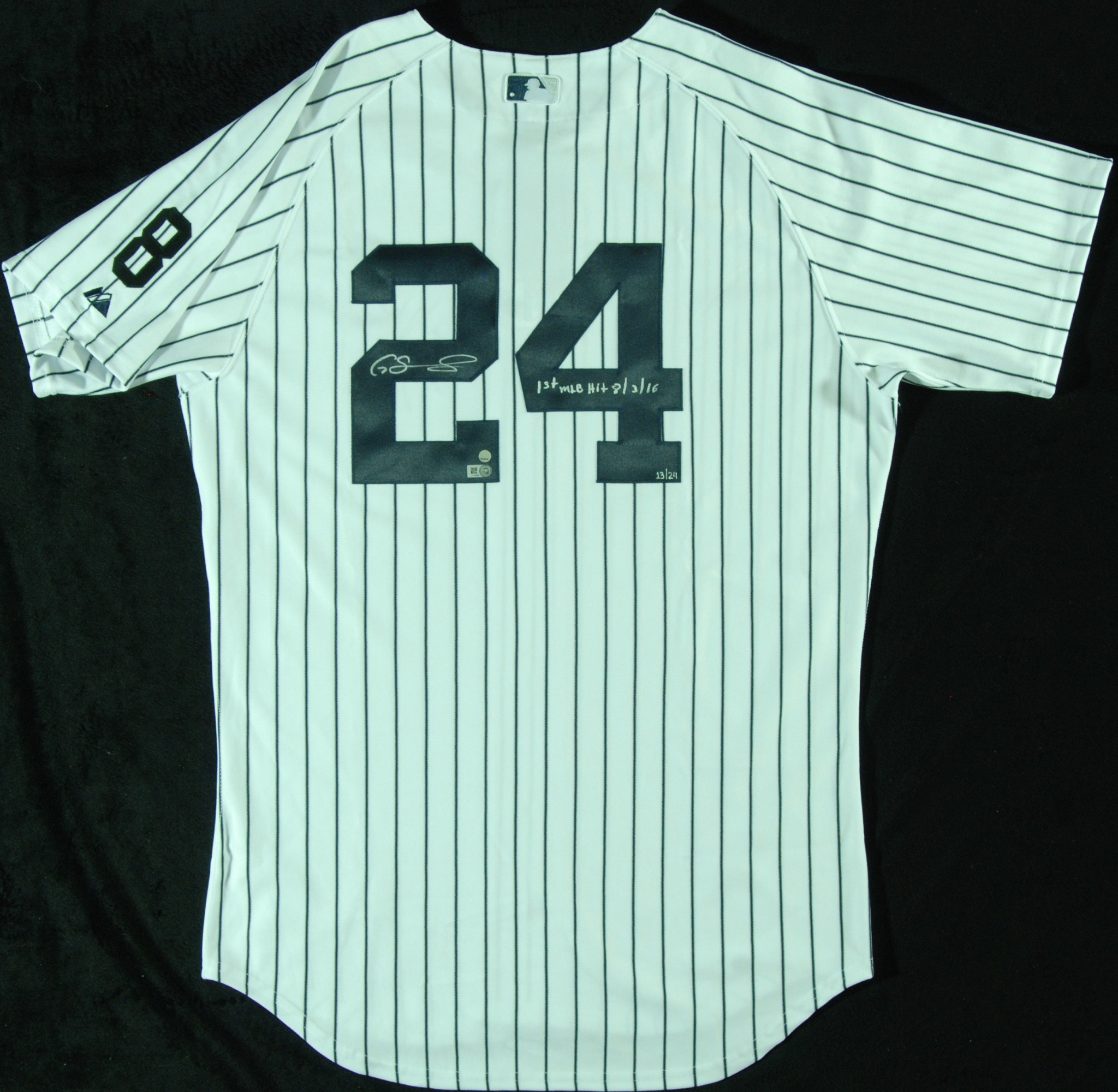 72a378feb Gary Sanchez Signed New York Yankees Jersey