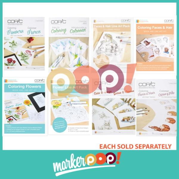 Details about COPIC Coloring Foundations Book Collection