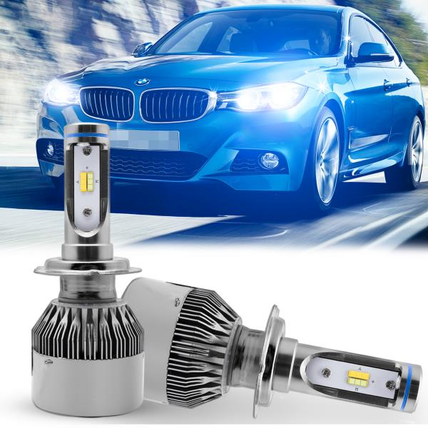 Details About H7 Jdm Yellow Blue Color Switch Led Headlight Bulbs For Bmw 3 Series E90 F30