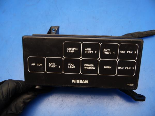 93 97 nissan altima oem under hood fuse box w fuses relays \u0026 cover Nissan Serena Fuse Box please note, the compatibility feature from ebay is only to be used as a reference guide for possible fitment applications buyer must match part number