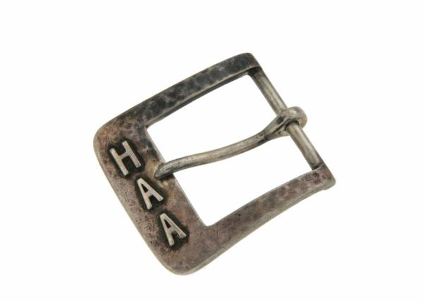Luxo Jewelry News Letter - Premium Jewelry - ¦Vintage 925 Sterling Silver Hand Wrought Belt Buckle »U522