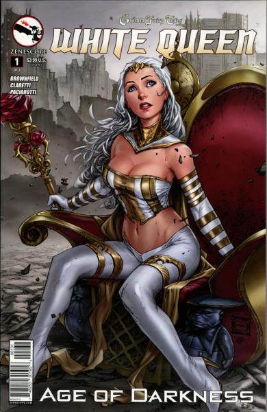 Zenescope comic Grimm Fairy Tales Presents 3C cover Goddess Inc #3