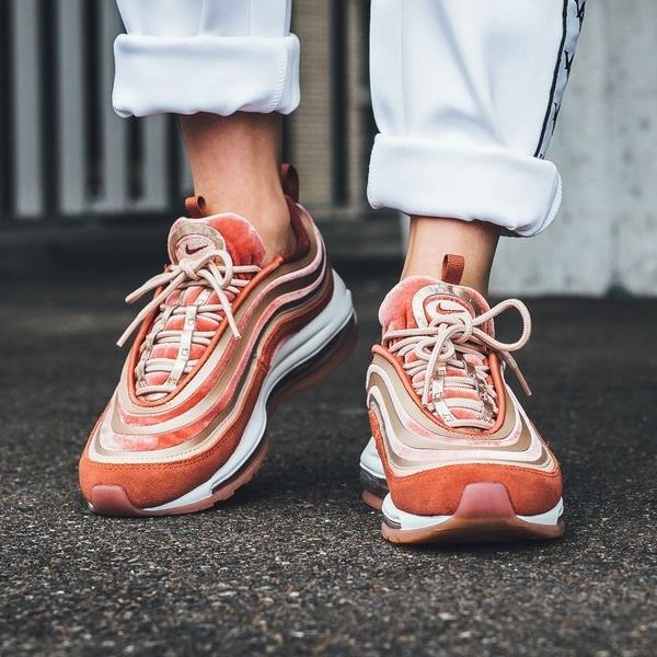 Nike Air Max 97 UL  17 LX Sneakers Dusty Peach Size 6 7 8 9 Womens Shoes New.  100% AUTHENTIC OR MONEY BACK GUARANTEED c7d1ce04b