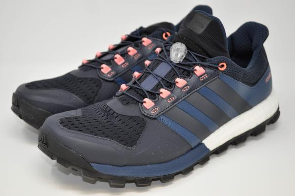 pretty nice 5d5ba 77e59 Details about Adidas Adistar Raven Boost Trail Running Shoes BluePink  S78456 (019) size 11