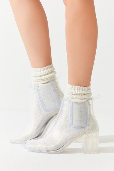 Jeffrey Clear Campbell Damens's Hurricane Rain Booties Clear Jeffrey Fashion d7ae48