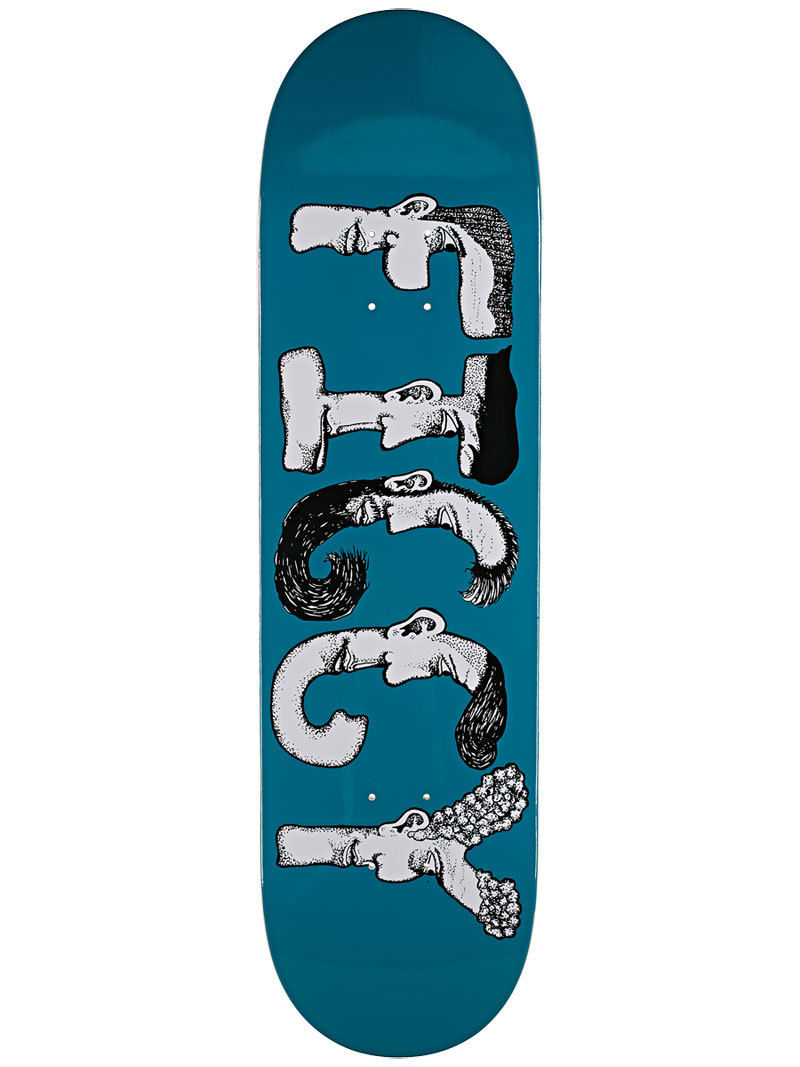 Baker Skateboard Deck Figgy 8.3875 Figueroa Dabble FREE GRIP and Post new