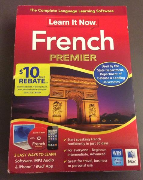 Learn It Now French Premier Software Speak French In 30 Days