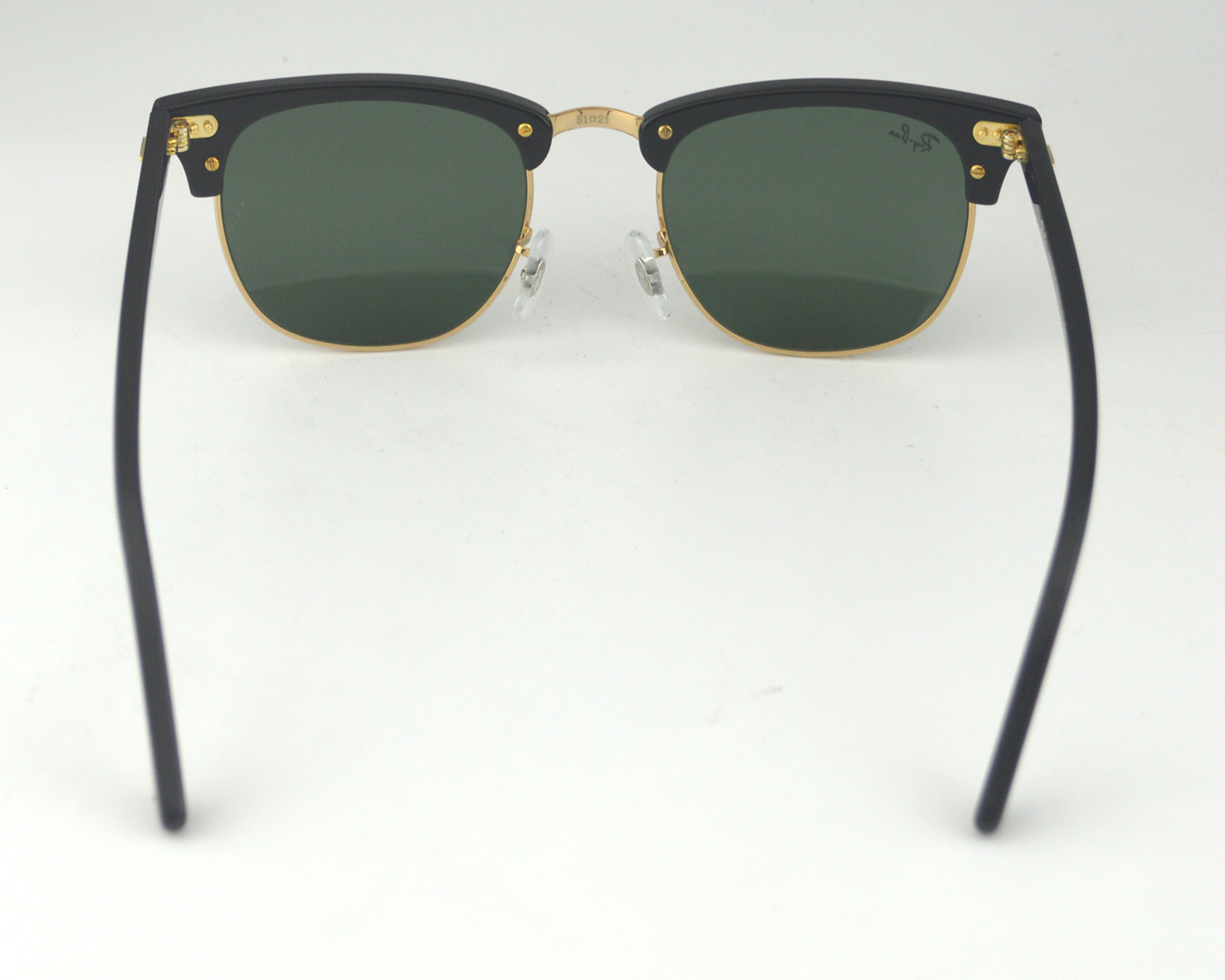 Ray Ban RB3016 Clubmaster Classic W0365 Black Frame/Green Classic G ...