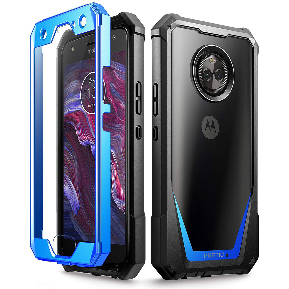 sale retailer 748b4 27424 Details about Poetic® For Motorola Moto X4 Case [Guardian]