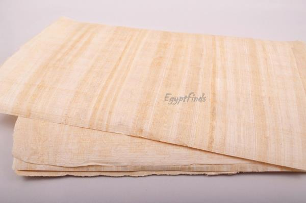 """30 Blank Authentic Egyptian Hand Made Papyrus Wholesale 17/""""x 13.3/"""" 43 x 34 cm"""