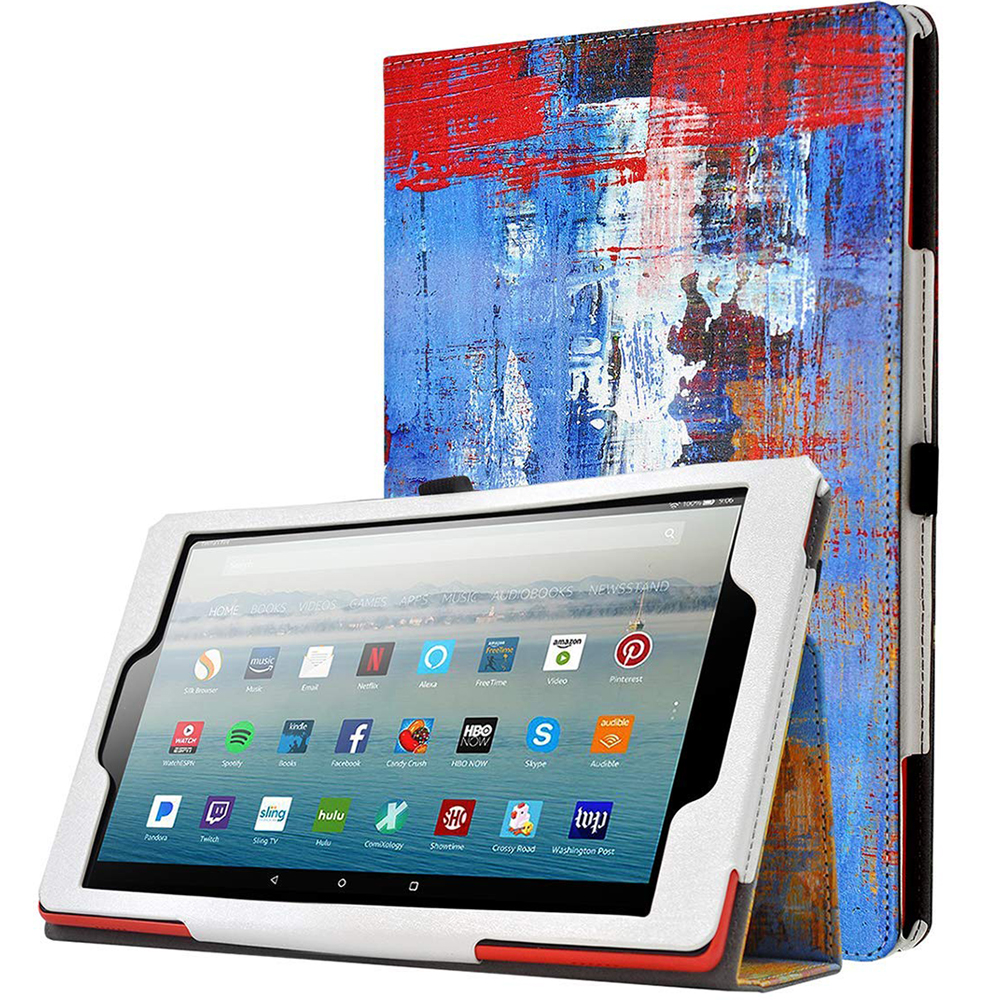 Amazon Fire HD 10 2019 Tablet Case,Poetic® Leather