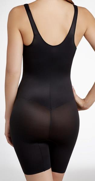 6286a059d2eff TC FINE INTIMATES Black WYOB Torsette Thigh Shaper Bodybriefer NEW ...