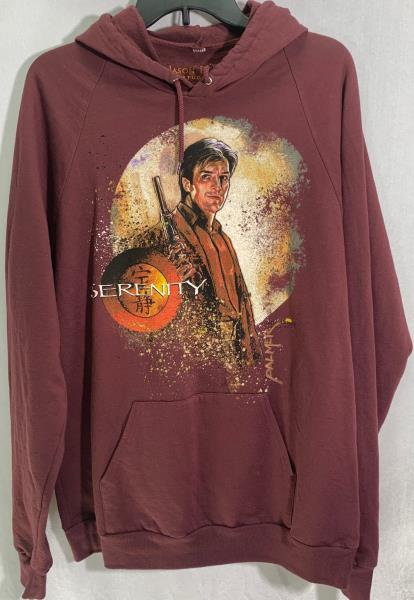 L@@K Size L Firefly Hoodie Black Browncoats Serenity
