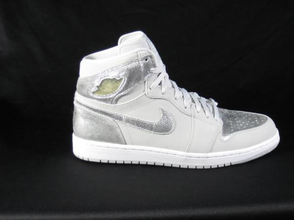 air jordan 1 retro hi silver
