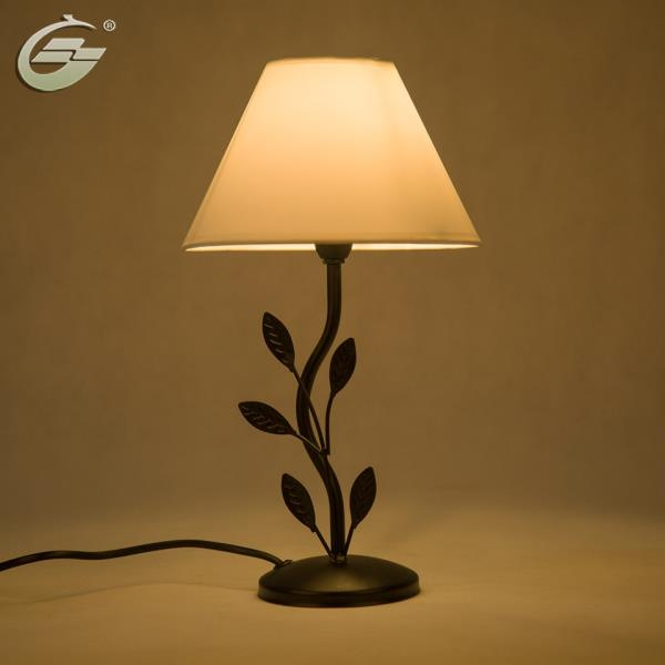 Original table lamps lights leaf metal lamp body fabric lampshade base type e14 is dimmable no material metal frame color black switch type onoff droping shipping accept key words table lamp size 4x8x14inch appro aloadofball Choice Image