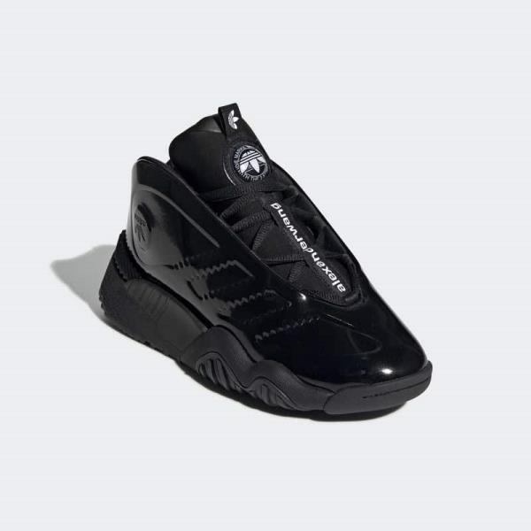new concept 3f891 05dc6 Details about Adidas x Alexander Wang Turnout BBall Black Size 7 8 9 10 11  12 Mens New EE9027