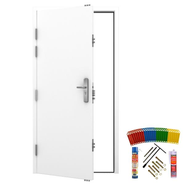 Steel Security Door with 19 Locking Points | Latham\'s Personnel ...