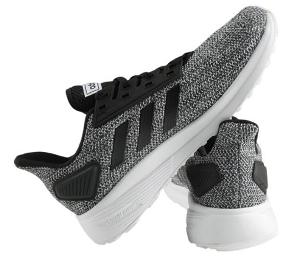 089042d91fd Adidas Men DURAMO 9 Cloud-foam Training Shoes Running Black Sneakers ...