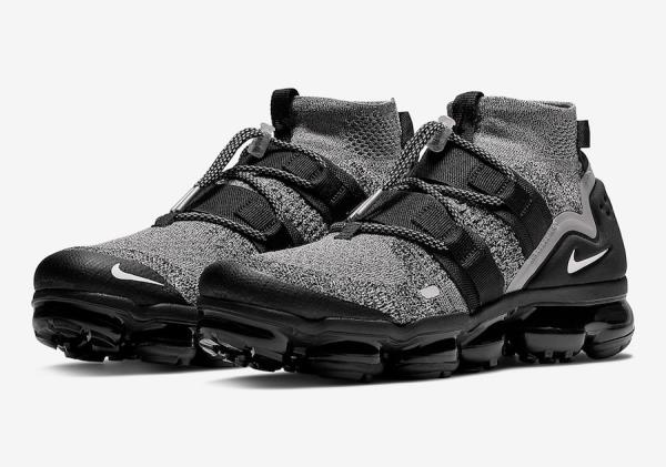 wholesale dealer 116fc eecee Details about Nike Air VaporMax Utility Oreo Black White Size 7 8 9 10 11  12 Mens AH6834-201