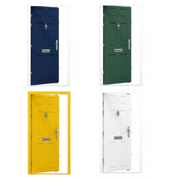 High Security Front Doors Residential Insulated Acoustic Thermal