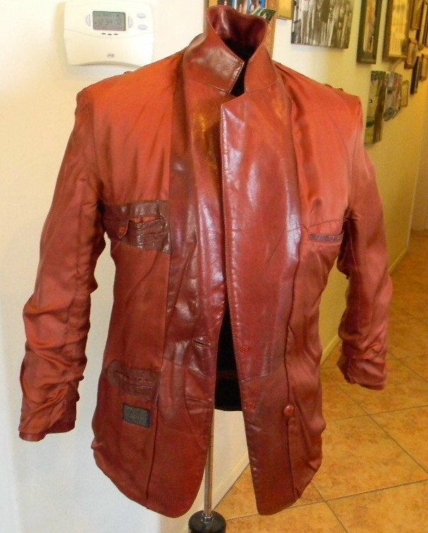 b07fac7d20d Details about VTG 70s NINO CERRUTI SPORT JAYMAR RUBY LEATHER BLAZER JACKET  MEN'S Sz 40R