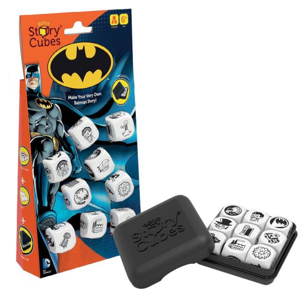 DC Comics Batman Rory/'s Story Cubes Solitaire Story Dice Game NEW SEALED