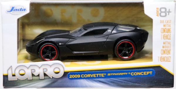 Jada Toys 2009 Corvette Stingray Concept Lopro 14701 New Nrfb 2011