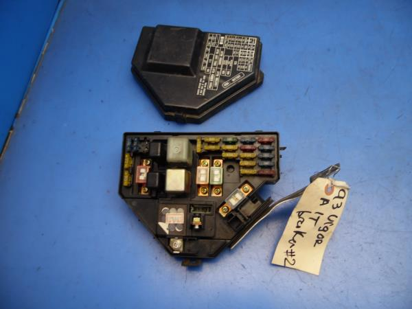 92 94 acura vigor oem under hood fuse box with fuses and 92 integra fuse box wiring schematic