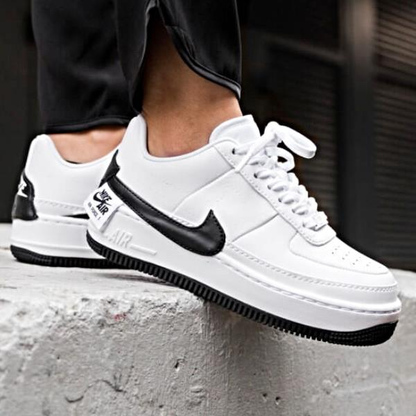 purchase cheap 573b3 986ff Details about Nike Air Force 1 Jester XX Sneaker White and Black Size 6 7 8  9 Womens Shoes New