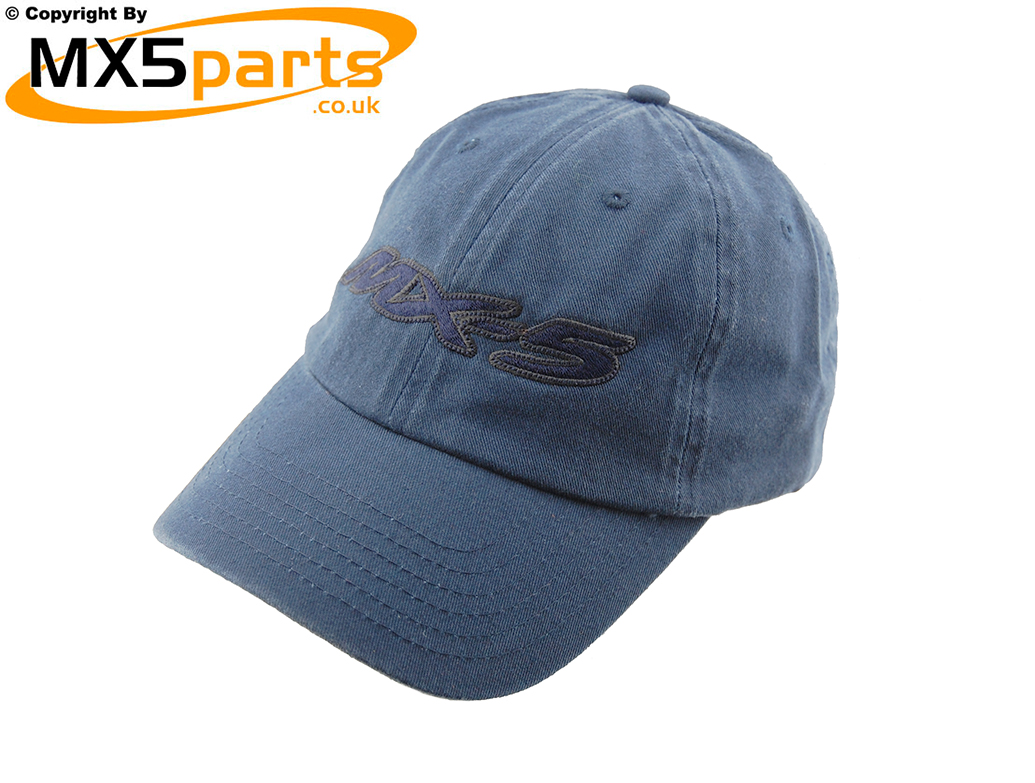 4e8dcf857 Official Mazda MX5 Merchandise Baseball Style Blue Cap With Large ...