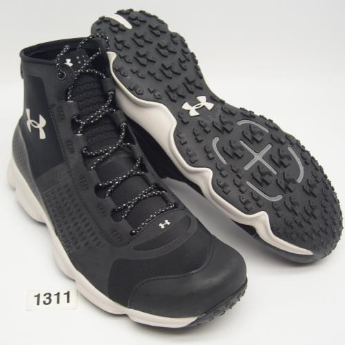 dd022e99310 Details about UNDER ARMOUR UA SPEEDFIT Mens 10.5 Black New Hike Mid Boots  1257447-005