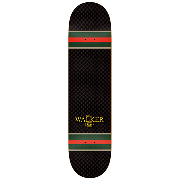 Real Skateboard Deck Walker Genuine 8.38 FREE POST FREE GRIP