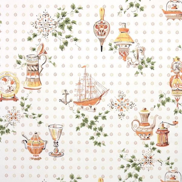 This Wallpaper Part Of The Hannahs Treasures Vintage Collection On Ebay We Sell Mostly One A Kind Rolls Have Thousands To