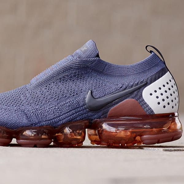 e551706f1fef Nike Air Vapormax Flyknit Moc 2 Sneaker Thunder Blue Size 8 9 10 11 12 Mens  Shoe. 100% AUTHENTIC OR MONEY BACK GUARANTEED