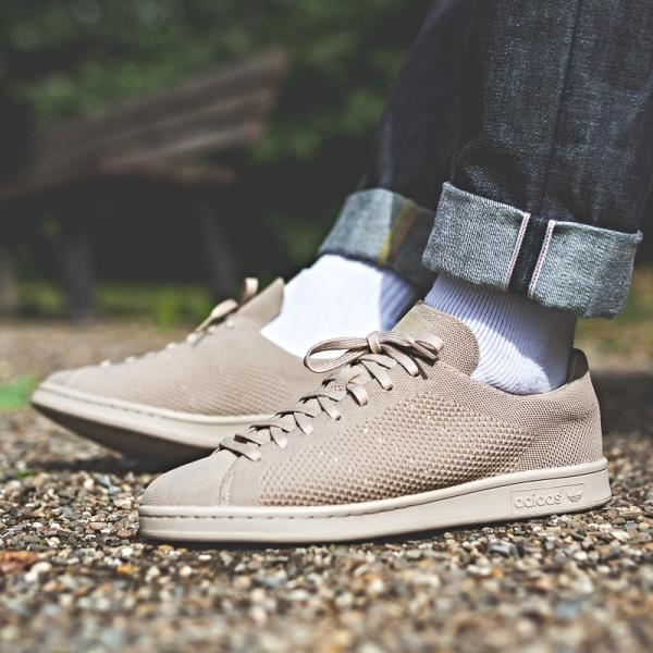 online store ca147 244be Adidas Stan Smith Primeknit Sneakers Clay Brown Size 8 9 10 11 12 Mens NMD  Boost