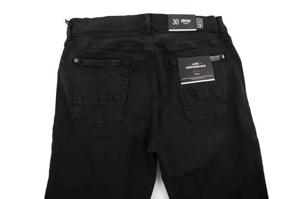 7 For All Mankind grey denim jeans size W34 RRP190 D202